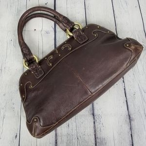 GOBELINI   Italian leather studded handbag